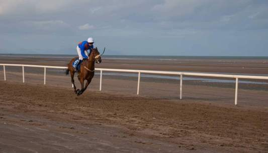 Maire-Horseracing on the Beach