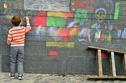 Oihana-Street Wall Painting