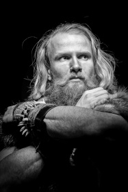 Tom-The Viking BW